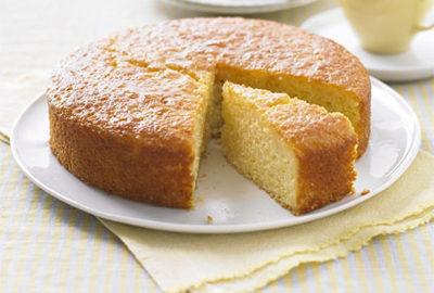 Легкий воздушный лимонный пирог
