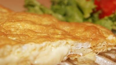 Омлет с сыром запеченный