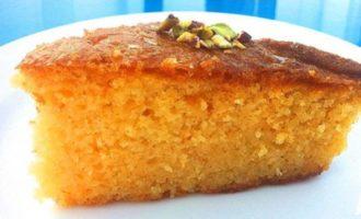 Рецепт греческого кокосового пирога Ревани
