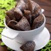 Шоколадно-банановое печенье